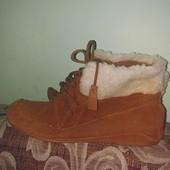 Замшевые ботинки Atmosphere б/у 2-3р.25 см