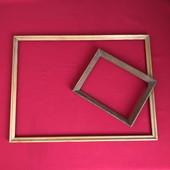 Рамки деревянные( пара) для картин