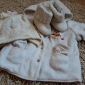 Курточка + шапочка +черевички