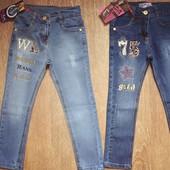Джинсы и штаны для девочек Турция 2-7 лет