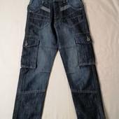 ЛоВиЛоТы! джинсы Air Walk , с карманами, на 7-8 лет