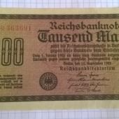 Бона Германии 1000 марок 1922