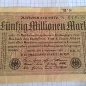 Бона Германии 50 000 000 марок 1923