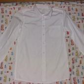 Белая рубашка на мальчика 13 лет