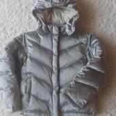 Теплая курточка в хорошем состоянии на рост 146-152 см