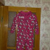 Стоп! *Слип-пижама, кигуруми для девочки Hello Kitty ♥ Флис ♥Много лотов, собирайте!