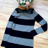 Облигающее Мини-платье в полоску Размер XS-S