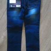модные джинсы на девочку.скини.Lupilu/Германия.110 рост.