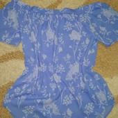 Нежная и легкая блуза Pep&Co, размер 16 в идеале