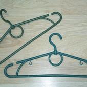 5 штук в лоте Костюмные вешалки тремпеля плечики с поворотным крючком Ширина 40 см