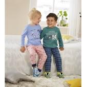 Теплая пижамка ,брюки фланель,упаковка+бонус! Lupilu размер 98-104