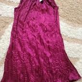 Роскошное коктейльное платье Wonderful цвета марсала, размер 8-10. Дорогой сток!