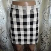 Стильная женская юбка в клетку Topshop