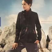 женская флисовая треккинговая куртка, мембрана,на осень Crivit размер евро 36-38