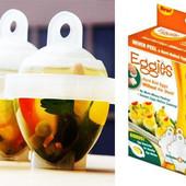 Формы для варки яиц без скорлупы. Красиво и Вкусно ! Цена покупки.