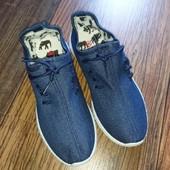 Джинсовые кроссовки, кеды. Р. 36 (22,5 см).