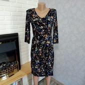 Шикарное фирменное платье Monsoon! Красивая ткань!