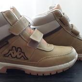 Деми ботинки kappa 32р.