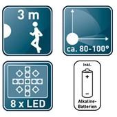 LivarnoLux Германия Светодиодная сенсорная лед лампа