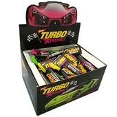 Целая пачка жевательных резинок Turbo Xtreme 100 штук.Турция