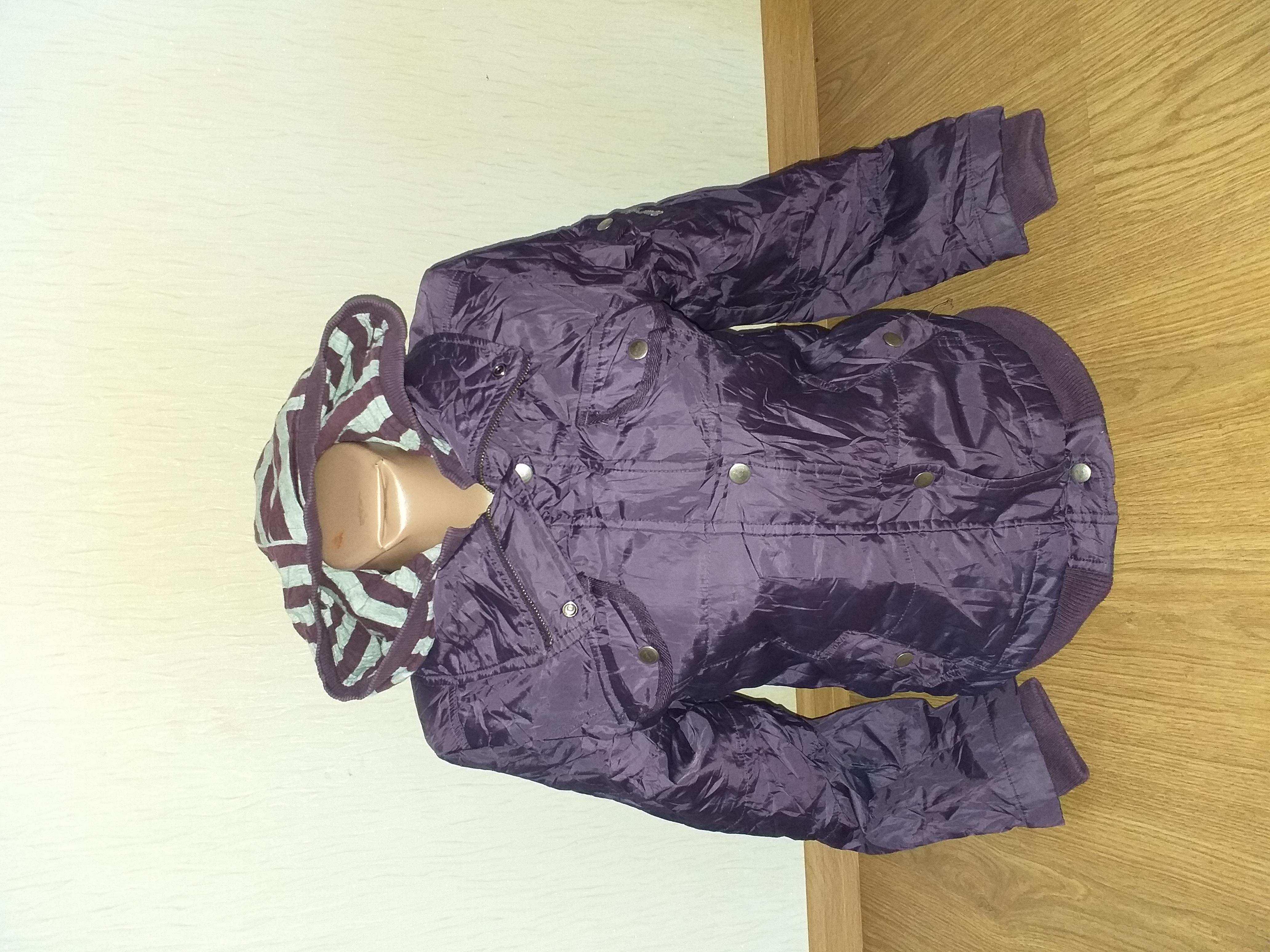 Деми курточка размер xs/s, рост 150-156 по бирке
