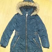 Удлинённая курточка на девочку 7-8лет замеры на фото