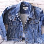 стильная джинсовка для вашего ребенка! мега классная, как новая! идеальное состояние