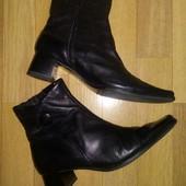Кожаные деми ботиночки Tamaris 36р!