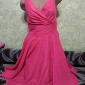 Нарядное яркое платье, размер 48, на грудь С! на любой праздник!