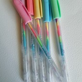 Гелевые ручки с меняющимися чернилами. В лоте 2шт. Лоты комбинирую.