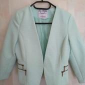 Пиджак нежно-бирюзового цвета,EUR-38