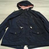 Фирменная куртка-парка из водоотталкивающего материала р. 16-20