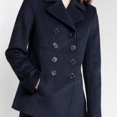 Женское короткое пальто с поясом. Кашемир!
