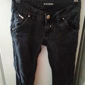 Черные джинсы брюки в идеальном состоянии р s, m
