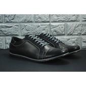 * Кожаные туфли, распродажа последних размеров, скидка -70%