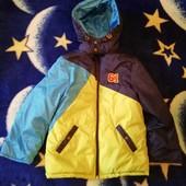 Куртка на холодную осень на мальчика 7-8 лет
