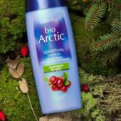 Шампунь для склонных к жирности волос с экстрактом клюквы серии bio Arctic