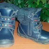 Ботинки зимние, тёплые и надёжные