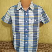 Фирменная рубашка Fat Face(Фат Фейс), на 6-7 лет, качественная, мерки есть