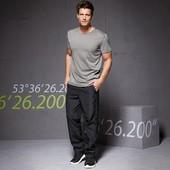 ☘ Базовая мужская футболка из органического хлопка Tchibo(Германия), р.р.: 44-46 (S евро)