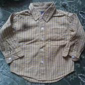 """Рубашка для мальчика с дл.рукавом """"черокке""""смотрите все лоты много одежды на этот возраст"""