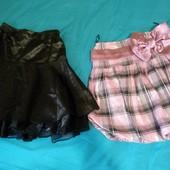 Две красивые пышные юбки на 6-8лет. В идеальном состоянии!