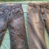 джинсы 2 шт в 1 лоте