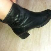 Демисезонные ботиночки. Кожа