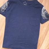Как новая, котоновая футболка Name it)) р.4-5лет, без следов носки!! Смотрите все мои лоты