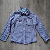 Рубашка rebel на 4-5 лет в хорошем состоянии
