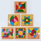 """Деревянная игра головоломка """"Логика"""" ! 6 видов : Танграм, Тетрис, Яйцо, Колумба и др. - 1 на выбор!"""