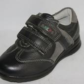КОЖА Туфли, кроссовки, полностью кожаные, размеры 26,27, 28, 29,