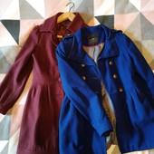 2 гарних осінніх брендових пальто у лоті розмір xs-s дивись заміри