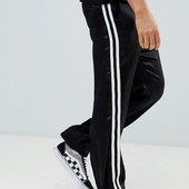 Спортивные брюки без манжета на флисе,М, Л размер